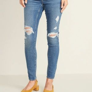 Maternity Front Low-Panel Rockstar Jeans